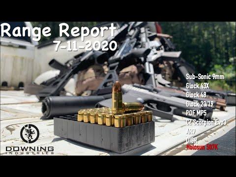 Range Report 7-11-20