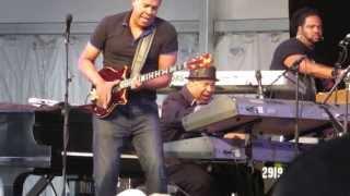 2013 Jazz Fest - Stanley Clarke & George Duke - Funny how time flies