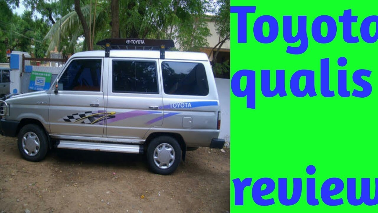 Toyota Qualis Review 2004 Model Youtube