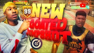 I accidentally found a NEW GOATED JUMPSHOT with NO BADGES on NBA 2K19! Best Jumpshot NBA 2K19!