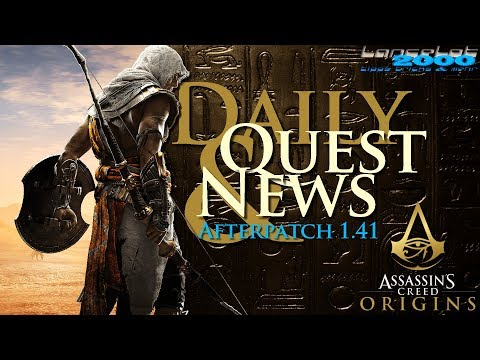 No Daily Quest but News - Assassin's Creed Origins PC