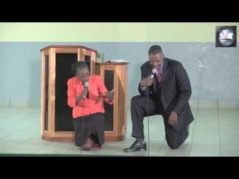 Pastor Mackenzie Kambizi - God Restores (Manzini Swaziland - 31 May 2014)
