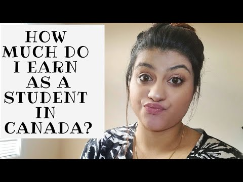 How Much Do I Earn As A Student In Canada | Indian Student Abroad || Thatsosnneha