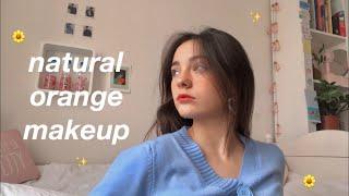 Natural Orange Makeup 🌻 - YesStyle cosmetics