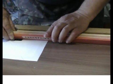 Мини бильярдный стол своими руками Часть 6: Приклейка бортовой резины к валику