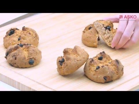 recette-pains-au-four-vapeur-combiné-ocs8676s-pro-series™---asko-electroménager