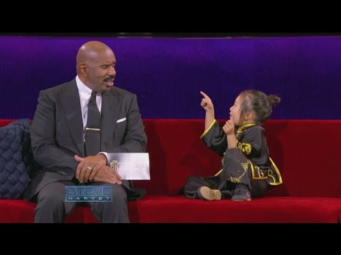 Little Big Shots: Behind-the-Scenes || STEVE HARVEY