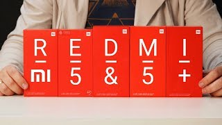 Xiaomi Redmi 5 и Redmi 5 Plus в синем, черном и золотом + РОЗЫГРЫШ Xiaomi Redmi 5