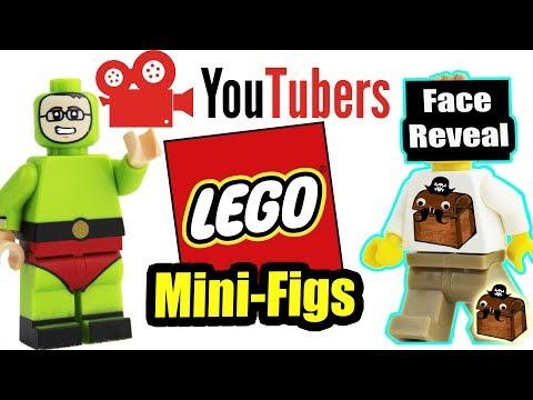 Youtubers LEGO Custom Minifigures 2018