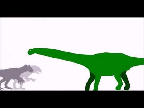 Indominus VS Argentinosaurus