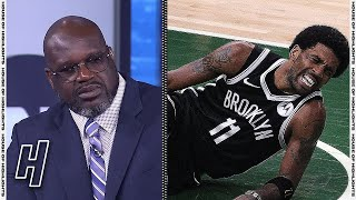 Inside the NBA on Kyrie Irving Injury in Game 4 - Nets vs Bucks | 2021 NBA Playoffs