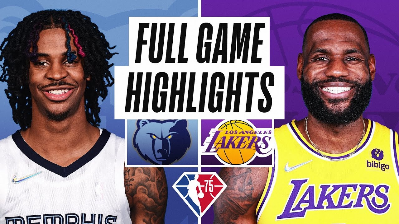 Lakers vs. Grizzlies: How to watch live stream, TV channel, NBA start ...