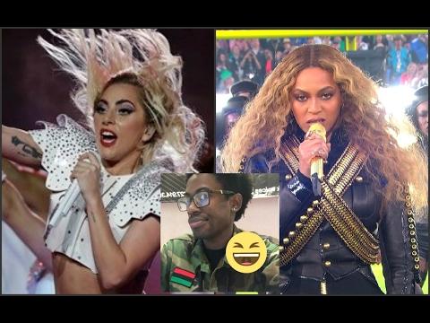 White Power Gaga VS Black Power Beyoncé