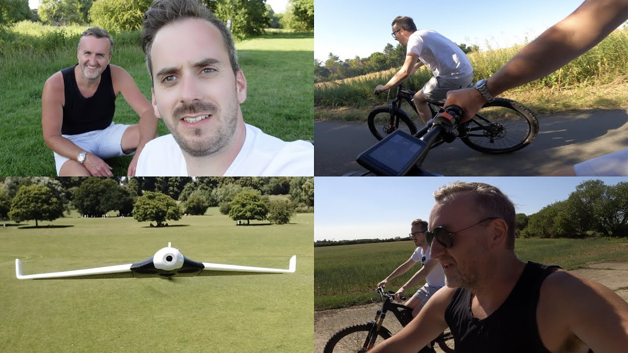 Fast E-Bikes & Fast Planes With Andy Kirby!