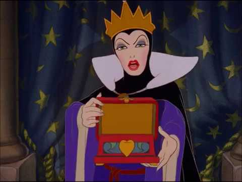 Evil Queen Transformation from Disney's Snow White And The ...Disney Evil Queen Song