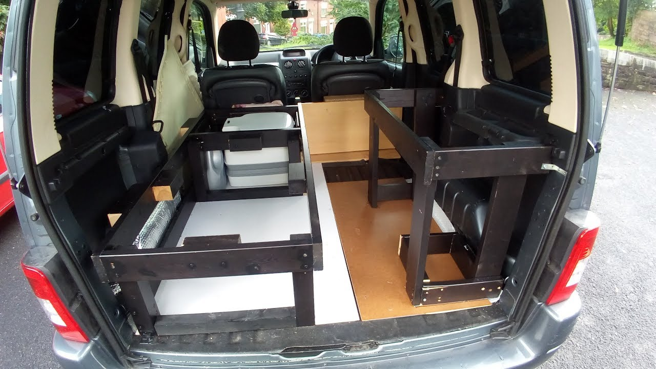 citroen berlingo micro campervan conversion 8 upcycled. Black Bedroom Furniture Sets. Home Design Ideas