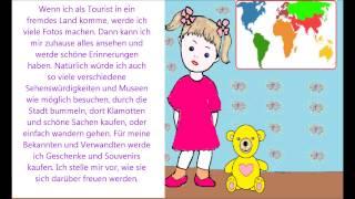 Учимся говорить по немецки 53 (Если я отправлюсь в путешевствие)