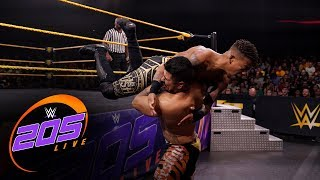 Lio Rush vs. Raul Mendoza: WWE 205 Live, Nov. 8, 2019