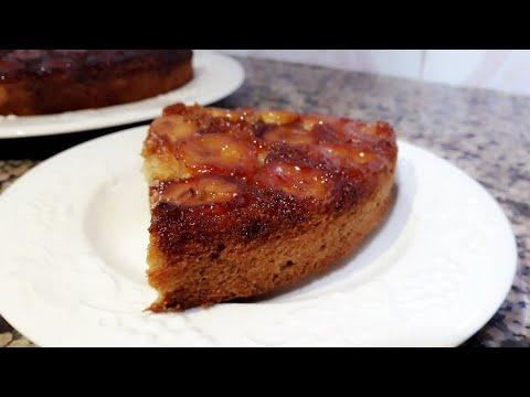 recette-de-gâteau-à-la-banane-caramélisé