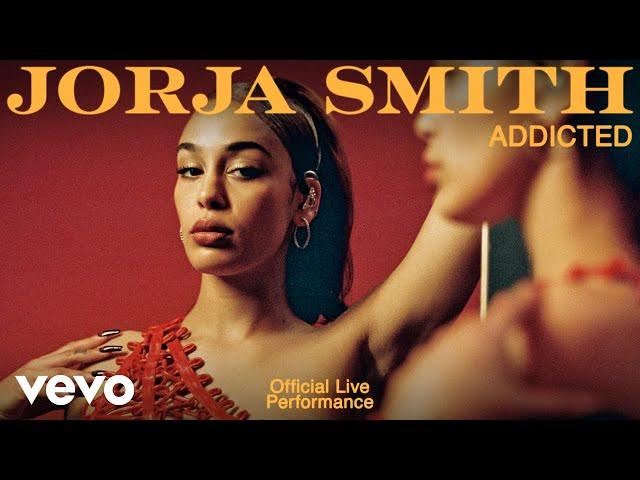 Jorja Smith - Addicted (Live)   Vevo Official Live Performance