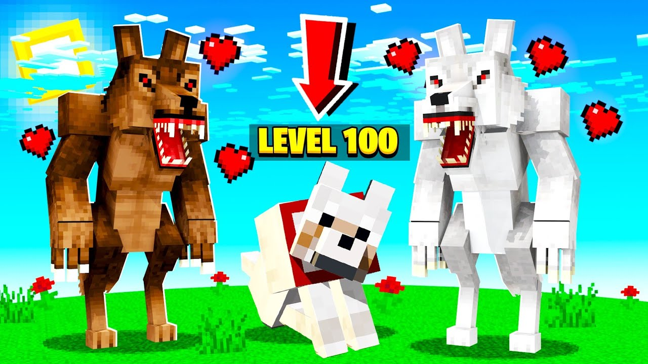 STRONGEST Pet Puppy in Minecraft! (insane)