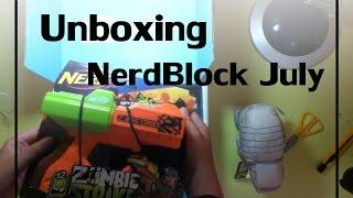Unboxing NerdBlock July