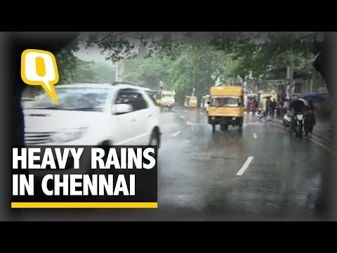 Heavy Rains Lash Parts of TN, Puducherry, Normal Life Disrupted