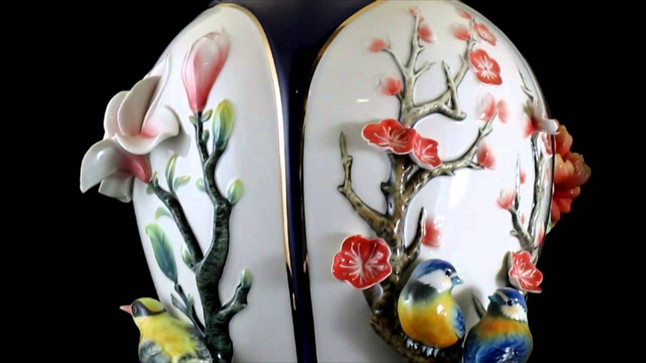 Franz porcelain collection peace of the four seasons vase fz03104 franz porcelain collection peace of the four seasons vase fz03104 reviewsmspy