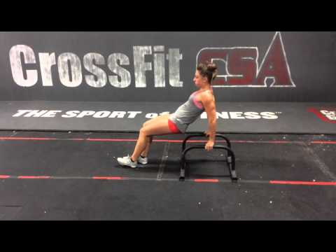 The Skill Wod Elements - Parallette Dips