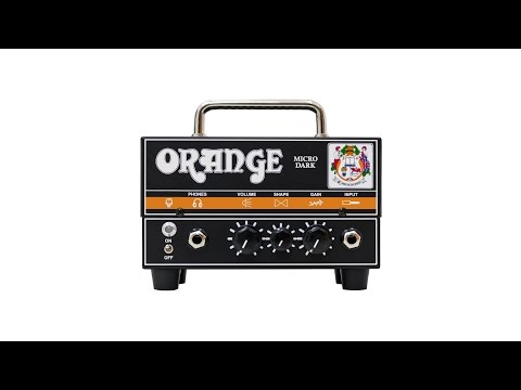 Orange Micro Dark Guitar Amplifier Head - Product Video