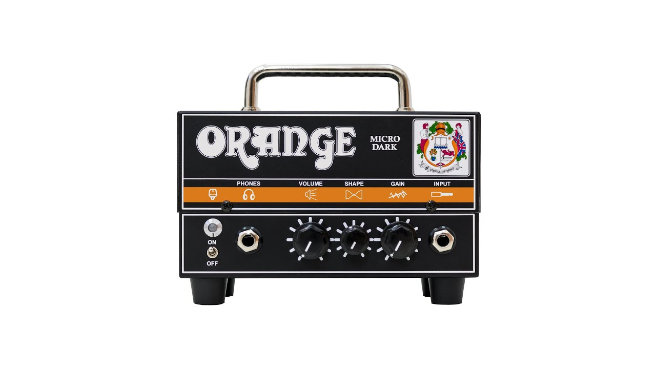 orange micro dark guitar amplifier head product video youtube. Black Bedroom Furniture Sets. Home Design Ideas