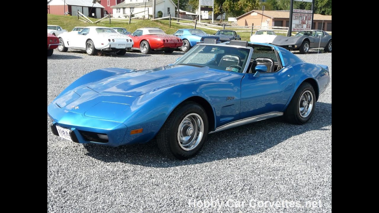 1975 bright blue corvette t top stingray for sale youtube. Cars Review. Best American Auto & Cars Review