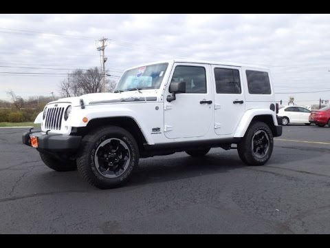 2014 jeep wrangler unlimited sahara polar edition for sale dayton troy piqua sidney ohio. Black Bedroom Furniture Sets. Home Design Ideas