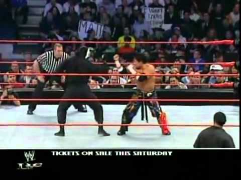 Tajiri vs Shinobi (Al Snow) - WWE Raw 4/12/04