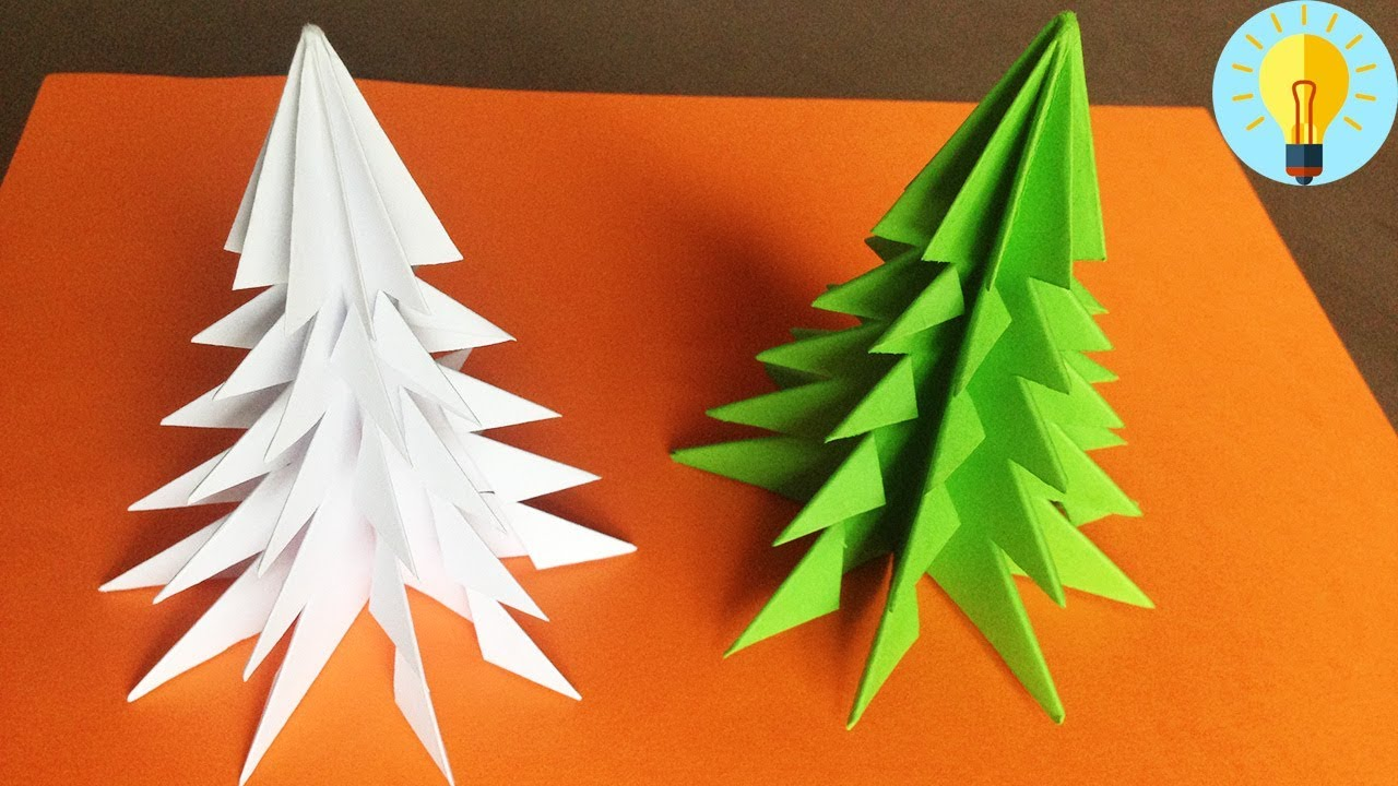 Weihnachtsbaum Basteln Papier