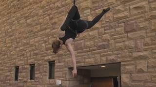 Emily Brumbaugh: Indoor Vertical Dance at the University of Wyoming Biodiversity Center
