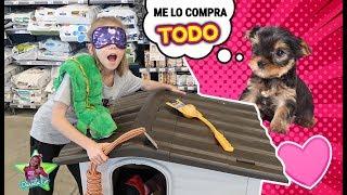 COMPRO TODO LO QUE TOQUE EN LA TIENDA PARA MI MASCOTA 🐶 Mi perro gasta MUCHO DINERO
