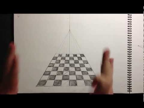 Part 2 Single Point Perception Drawing Youtube