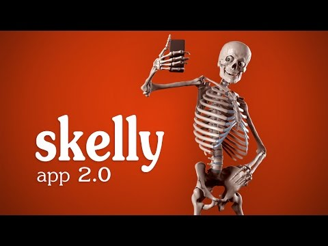 Skelly App 2.0 Trailer - Posable Art Model