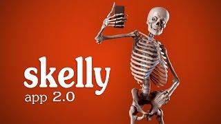 Skelly App 2.0 Trailer - Posable Art Model