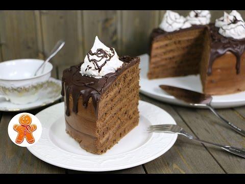 Торт Шоколадный на сковороде
