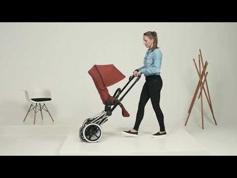 Как собрать коляску CYBEX PRIAM: 2-in-1   Mothercare