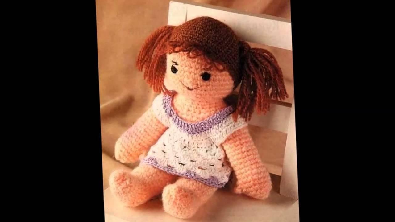 схемы вязания куколок