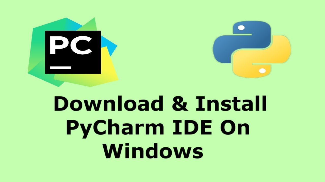 How To Download & Install PyCharm Python IDE On Windows   Hindi
