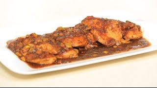 دجاج بصوص التين والخل البلسميك | أميرة شنب