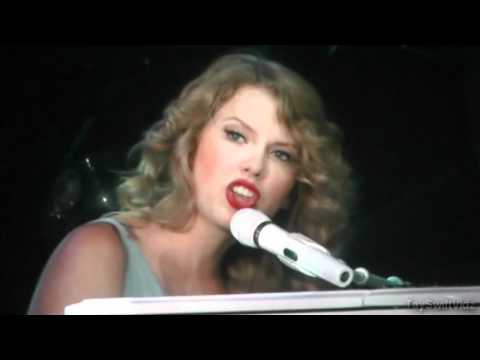 Taylor Swift Speak Now World Tour - Back To December/Apologize/You're Not Sorry (HD)