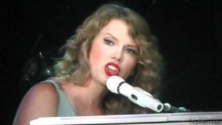 Taylor Swift Speak Now World Tour - Back To December/Apologize/You