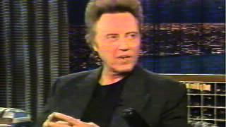 Christopher Walken on Late Night With Conan O'Brien, February 2003