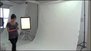 E-commerce: Equipamentos de estúdio para fotografar.