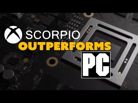 Xbox Scorpio OUTPERFORMS PCs? - The Know Game News